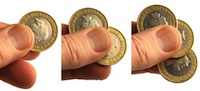 English Locking Coin Set - coin tricks